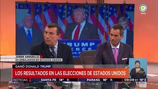 Elecciones en EE.UU. Entrevista en TV PUBLICA