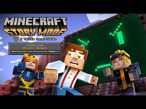 Minecraft: Story Mode Episode 7 - 'Access Denied' Trailer thumbnail
