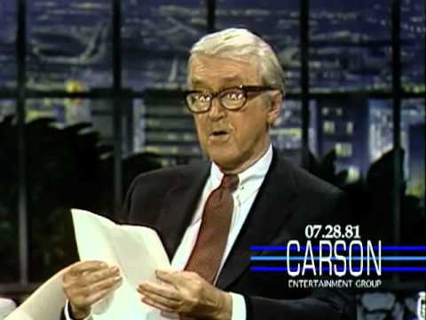 Jimmy Stewart reads a poem he wrote about his dog and makes Johnny Carson cry
