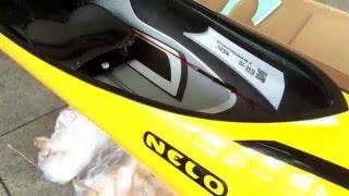 Nelo Cinco K1 Sprint Kayak Paracanoe Malaysia | AvironRacing.com
