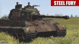 """Steel Fury Kharkov 1942 Mein Panzerkampf 01 """"Cagny"""" Pz.VI Ausf.B Tiger II King Tiger Konigstiger"""