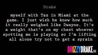 Drake - The Calm Lyrics [VIDEO]