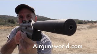 Full Auto Air Gun Shooting Day! Drozd and Umarex