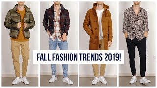 Everything You NEED To Know About Mens Fall Fashion Trends For 2019  | One Dapper Street