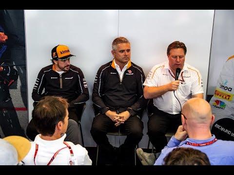 Sem ordem, McLaren busca salvação por modelo da tentativa e erro | GP às 10