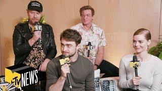 Guns Akimbo Cast On Their Transformation Roles & Harry Potter Tattoos | TIFF 2019 | MTV News