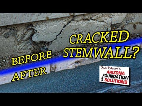 Chandler, Arizona Stem Wall Repair