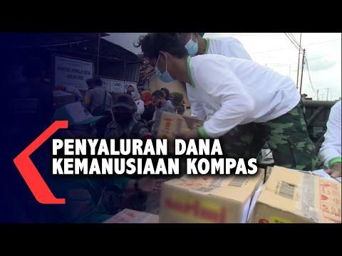 Penyaluran Bantuan Dana Kemanusiaan Kompas