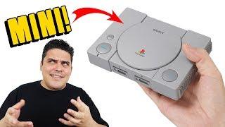 Playstation Classic entrando na moda dos Consoles Mini