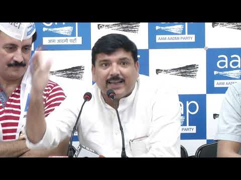 Former Union Minister Sompal Shastri's Son & Former Executive Sandeep Shastri Joins AAP