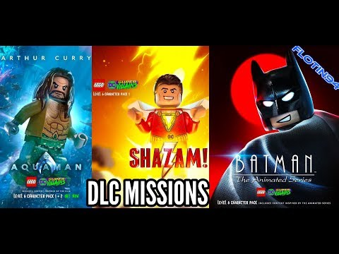 ALL DLC MISSIONS | Lego DC Super Villains
