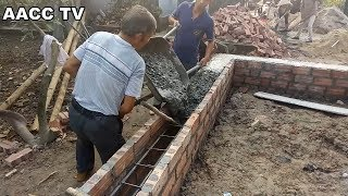 Amazing Technology Construction Concrete Beams Foundation - Building & House