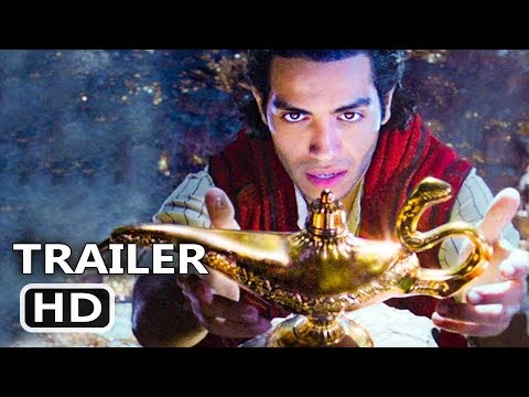ALADDIN Official Trailer TEASER (2019) New Disney Movie HD