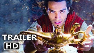 ALADDIN Official Trailer TEASER (2019) New Disney Movie HD