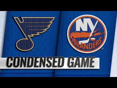 01/15/19 Condensed Game: Blues @ Islanders