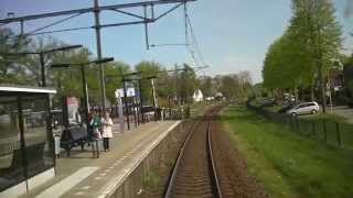 preview picture of video '[cabinerit] A train driver's view: Deventer - Zwolle, 11-Apr-2014'