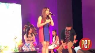"""Morisette Amon sings """"Kapag Ako Ay Nagmahal"""""""
