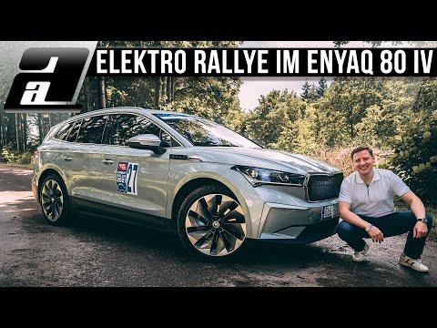 Skoda Enyaq 80 iV bei der iMobility Rallye 2021   Packen wir die Top 10?