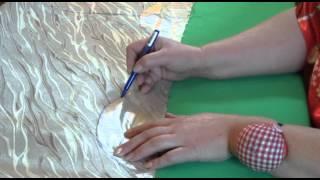 Смотреть онлайн Делаем римскую штору самостоятельно на дому