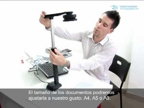 Escáner de libro (A3 book scanner) -Español