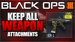 "Black Ops 3 - NEW ""Weapon Prestige Glitch"" & HOW TO KEEP ALL ATTACHMENTS!! (BO3 Gun Prestige Glitch)"