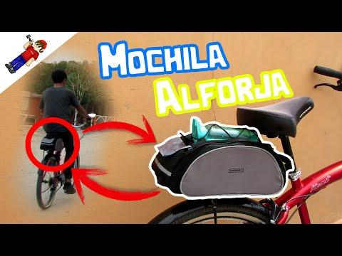 Mochila Alforja Para Bicicleta // Unboxing // Marca Roswheel | SwagDroiid TV