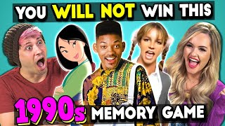 90's Pop Music | The Impossible Memory Challenge