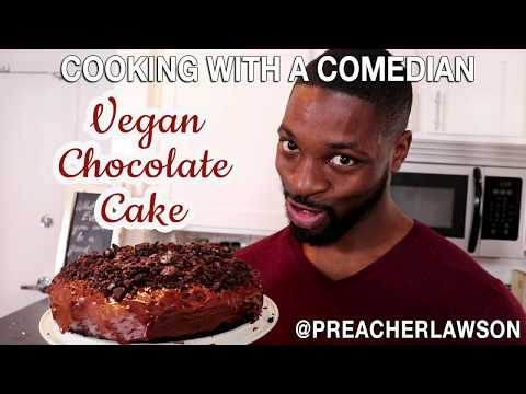 How to make (Vegan) Chocolate Cake - Cooking With A Comedian