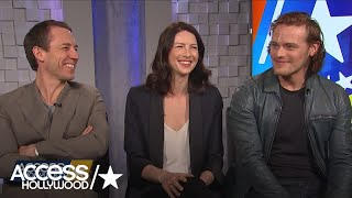 Access Hollywood - Interview - Caitriona Balfe / Sam Heughan / Tobias Menzies - Mai 2016