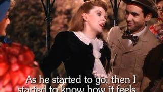 The Trolley Song - Karaoke - Judy Garland - Lyrics - Stereo - Instrumental only