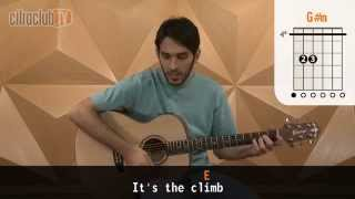 The Climb - Miley Cyrus (aula de violão simplificada)