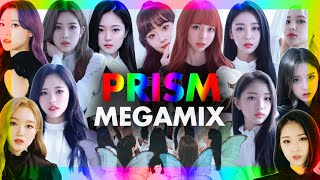 LOONA_All 12 Members - PRISM (프리즘) / The Megamix By MBMMIXES16 [pt.1]
