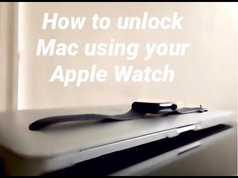 how to unlock mac using apple watch