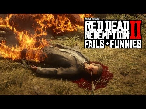 Red Dead Redemption 2 - Fails & Funnies #90