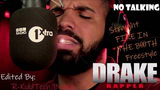 Drake - Fire in the booth Edited NO TALKING just Freestyle