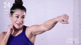 Sweat Series #11: 5-minute full-body boxing workout from Rumble Boxing by Well+Good