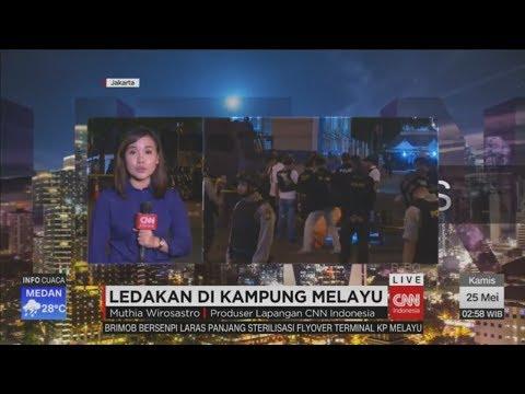 Breaking News! Bom Bunuh Diri di Kampung Melayu, 2 Pelaku & 3 Polisi Tewas, 10 Luka-luka