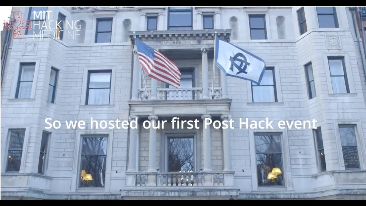 MIT Hacking Medicine – Post-Hack 2018