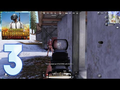 PUBG Mobile - Gameplay Walkthrough Part 3 (iOS, Android) TOP 3
