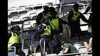 Polisövervåld Mot Fotbollssupportrar
