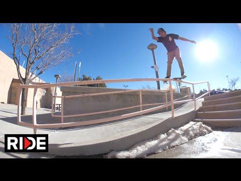 Bryant Chapo Skating Gallup, New Mexico