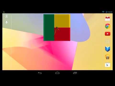 Video of Benin Clock