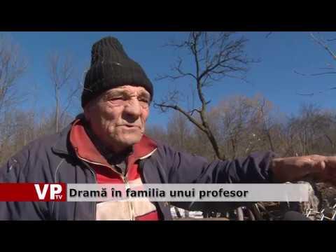 Dramă în familia unui profesor
