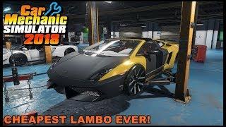 Car Mechanic Simulator 2018 - CHEAPEST LAMBORGHINI GALLARDO SUPERLEGGERA EVER!!