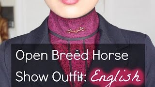What To Wear To An Open Breed Horse Show: English