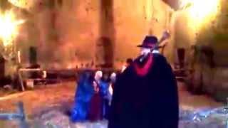 preview picture of video 'Giovanni Di Fabio al presepe vivente di Tragliatella'