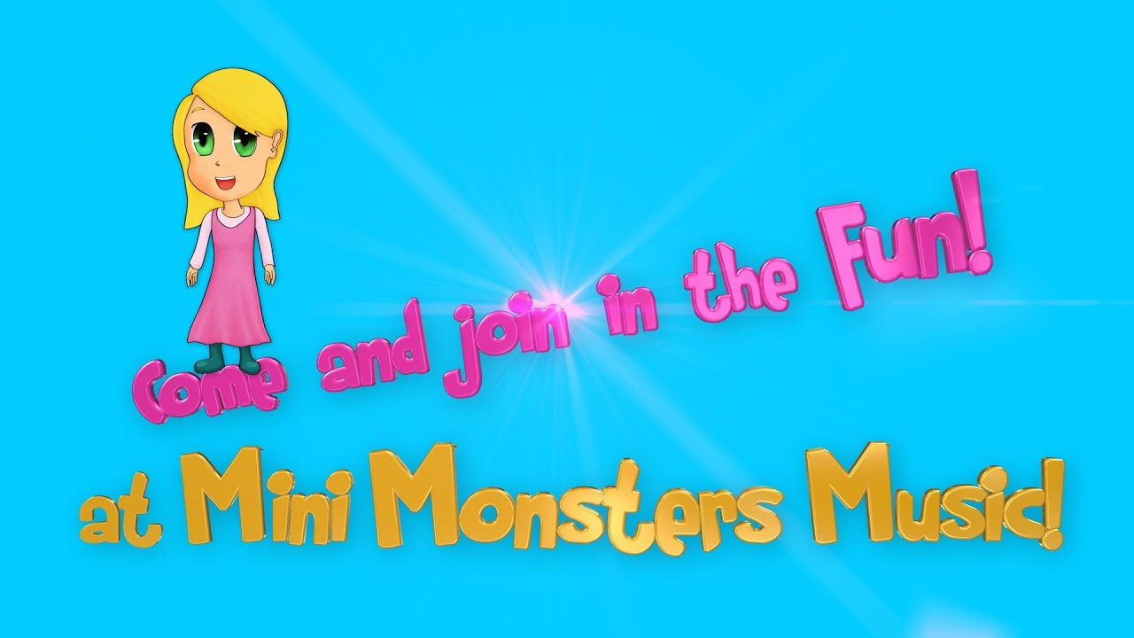 The Best Nursery Rhymes And Learning Songs Mini Monsters Music Trailer