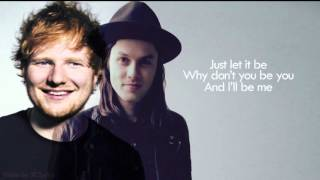 lyrics to let it go james bay