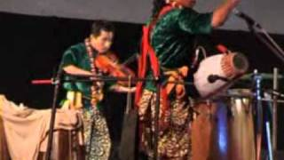 Manipuri classical and folk fusion music.