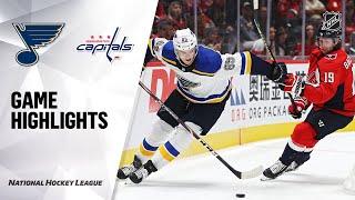 09/18/19 Condensed Game: Blues @ Capitals